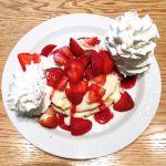苺とマスカルポーネのパンケーキ