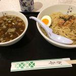 札幌 三代目月見軒 #ramen フードコートでつけ麺頼むとスープ割りが絶望的