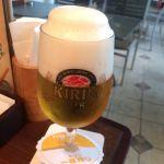 キリン・シティ なんばCITY すごい美味しい泡のビール!