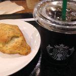 スターバックス・コーヒー 天神地下街店。アイスコーヒー