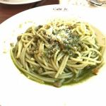 Italian Tomato Cafe Jr. ららぽーと横浜店ポークグリーンミートソース。これっきりとさせていただく。