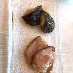 椎茸ソテーと豚肉♡ どちらも味付け、食感のよいこと♡ ★★★★★