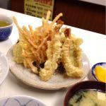 天ぷら定食ふじしま
