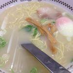 スガキヤ イオンナゴヤドーム前店 #ramen 玉子入りラーメンを食べてドームへGO!