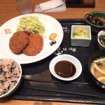 大かまど飯 寅福 丸の内店 コロッケ定食