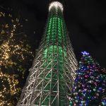 スカイツリーのクリスマスライトアップ