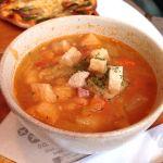 アンデルセンランチのスープ野菜たっぷり