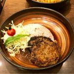 ビーフ100%ハンバーグディッシュ@おむらいす亭 ゆめタウン博多店。