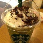 スターバックス・コーヒー 姫路フォーラス店でごちそうさま♡新しく出たチョコレートブラウニー抹茶クリーム(*´ڡ`●)