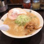 こってりらーめん 誉 新松戸店 #ramen #ラーメン みそらーめん¥850野菜・メンマ増量味濃い目