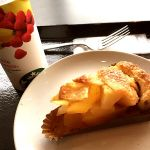 昨日のおやつ。りんごゴロゴロアップルパイウマすぎたー(๑˃̶͈̀o˂̶͈́๑)スターバックス・コーヒー 岡山シネマタウン岡南店