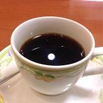 食後のコーヒー。キャピタルコーヒー カフェキャピタル 伊勢丹府中店