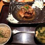大かまど飯 寅福 新宿 牛肉豆腐定食
