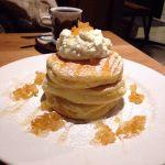 Cafe Sacai*レモンリコッタパンケーキ。生地がおいしい!