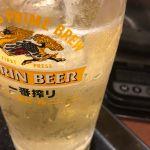 丸亀製麺 ThinkPark店 5杯目ハイボール
