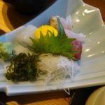 伊豆創作寿司 いず鮨   お刺身   色々味わう為に量はチョッピリです