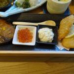 伊豆創作寿司 いず鮨   焼物と揚物   特徴のある品は無い