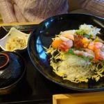 伊豆創作寿司 いず鮨   贅沢いず鮨丼(2380円)   こちらも珍しい刺身はないが見た目豪華です