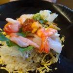伊豆創作寿司 いず鮨   いず鮨丼   流石に品数は多いですね〜