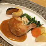 鶏モモ肉のコンフィ ローズマリー風味