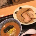 TVでとみたやってて無性に食べたくなったのでこちらで大盛給油。麺もつけ汁も秀逸です。松戸富田麺業 #ramen