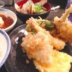 大吉 なんばこめじるし   天ぷら定食♡