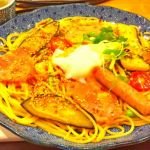 札幌市中央区の洋麺屋五右衛門 オーロラタウン。夏のおすすめ、夏野菜のよくばりスパゲッティーを注文。毎回思うけどこれ単品で1,100円は割高感を感じる。
