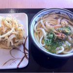 丸亀製麺 イオン浦和美園店のかけうどんと野菜のかき揚げ(^^)
