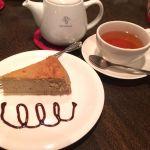 メアリルボーン なんばCITY 紅茶チーズケーキ(๑´ڡ`๑)きーちゃんとデート♡