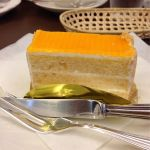 WEST RETRO CAFEでエンゼルケーキ