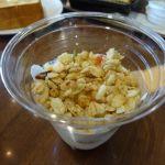 上島珈琲店 NEOPASA駿河湾沼津下り店   フリグラ&ヨーグルト  独身の頃はシリアルと牛乳の朝食でした
