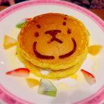 ル パン 阪急うめだ本店/くまのがっこうコラボの時のパンケーキ。かわいくておいしかった!