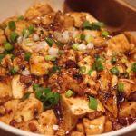 「麻婆豆腐」店でたたいた豚肉を充分に炒めて旨みを引き出し。自家製味噌のコクと香り、花椒の程好い香りとしびれ!パンチが有ります♪ 東中野・福建家庭料理 旬の香