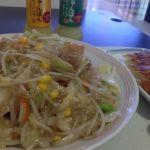 リンガーハット イオンモール甲府昭和店で野菜たっぷり皿うどん