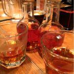 中国屋台料理 大龍。老酒と紹興酒の違いがイマイチわかってない。けど、味は違う。