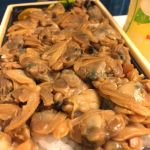 深川飯。肉厚の貝がたまりません♡つきじ 喜代村 エキュート東京店
