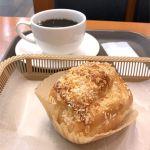 カスカード ゼスト御池店:ツナコーンマヨとコーヒー