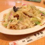 中央軒 大阪マルビル店:長崎皿うどん