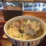 羽田空港名物(?)肉うどん カフェ&ダイナー ピスタ