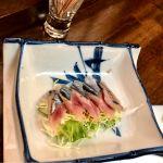 追加で秋刀魚のお刺身を頂きました!