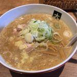 大島 #ramen #ラーメン 味噌らーめん¥850