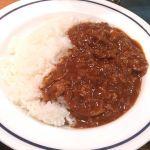 キッチンジロー ニュー新橋店 お昼はハヤシライス。外で食べるハヤシは美味しいね(^^)