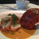 オマール海老の香草蒸し アメリケーヌソース有明海の恵み@デリリウムカフェ トーキョー