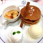 ウィーンの森 そごう柏店 アップルシュトゥルーデル〜暖かい林檎ソース添え〜