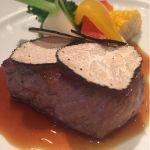 神崎牛のステーキ マデラソース サマートリュフの香りを添えて@デリリウムカフェ トーキョー