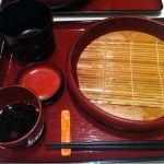実演手打ちうどん 杵屋 大分トキハ会館店に来ました。お昼ごはんはざるうどん定食大盛り580円