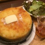 東京ロビー 丸の内KITTE店に来ました。UCC系列なんですね。ふんわりと外はサクッと。バターしみこませて頂きました!