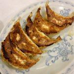 大盛軒 餃子を頂きました。餃子もややアッサリ目ですが、旨味あって美味しかったです。幾つでも食べられそうです。