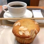 カスカード ゼスト御池店:フルーツフィナンシェとコーヒー