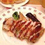チキンカツレツ ケイジャン風味。最近ケイジャンが好きなのです。 @バケット 埼玉県イオン浦和美園SC店
